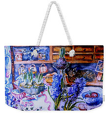 Still Life With Hyacinths  Weekender Tote Bag