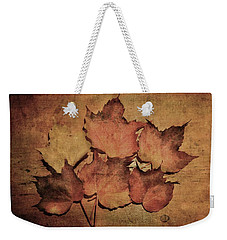 Still Life With Leaves Weekender Tote Bag