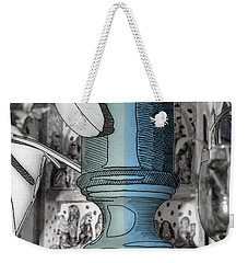 Still Life With Retablo And Lamp Base Weekender Tote Bag by Stan  Magnan