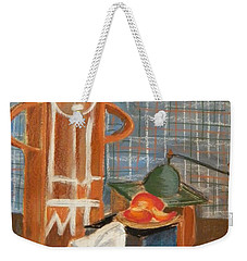 Still Life With Romanian Ceramic Weekender Tote Bag