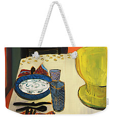 Still Life With Two Plates Weekender Tote Bag