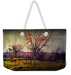 Weekender Tote Bag featuring the photograph Still by Mark Ross
