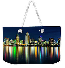 Still Of The Night Weekender Tote Bag