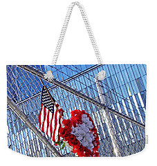 Weekender Tote Bag featuring the photograph Still Remembered  by Sarah Loft
