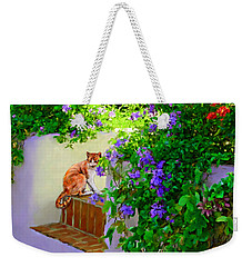 Still Waiting Weekender Tote Bag by David  Van Hulst