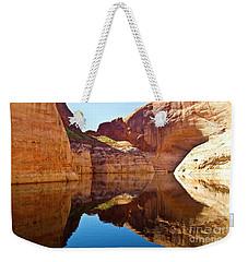 Still Waters Weekender Tote Bag by Kathy McClure