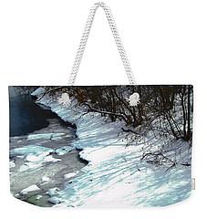 Still Winter Weekender Tote Bag