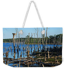 Still Wood - Manasquan Reservoir Weekender Tote Bag