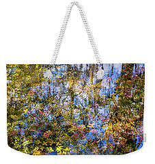 Stillness Holds Everything Weekender Tote Bag