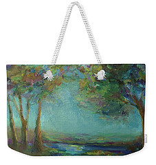 Stillness Weekender Tote Bag by Mary Wolf