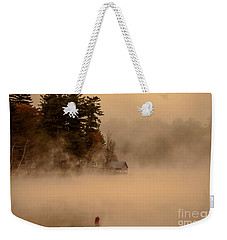 Stillness Of Autumn Weekender Tote Bag by Sherman Perry
