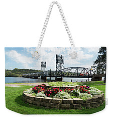 Stillwater And The Mississippi Weekender Tote Bag