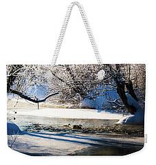 Stillwater Winter Weekender Tote Bag