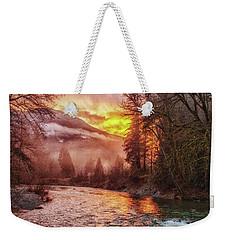 Stilly Sunset Weekender Tote Bag