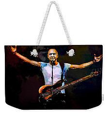 Weekender Tote Bag featuring the digital art Sting 1 by Andrzej Szczerski