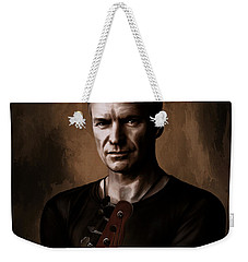 Weekender Tote Bag featuring the digital art Sting by Andrzej Szczerski