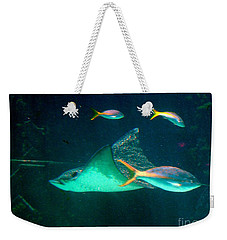 Sting Ray Weekender Tote Bag