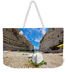 Stinva Bay Beach Summer View Weekender Tote Bag by Brch Photography