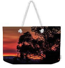 Stirling Range Sunset Weekender Tote Bag
