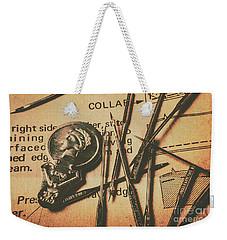Stitching The Worn Weekender Tote Bag