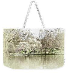 St. James Park London Weekender Tote Bag by Judi Saunders