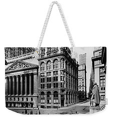Weekender Tote Bag featuring the photograph Stock Exchange, C1908 by Granger