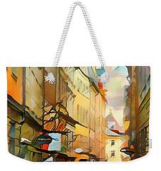 Stockholm Galmastan Town 9 Weekender Tote Bag