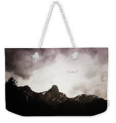 Weekender Tote Bag featuring the photograph Stockhorn by Mimulux patricia no No