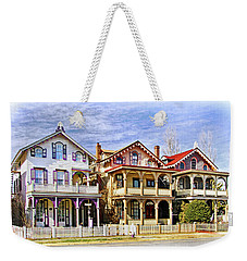 Stockton Row Cottages Weekender Tote Bag