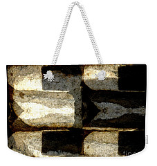 Stone Abstract Weekender Tote Bag