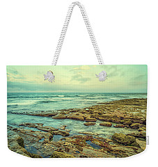 Stone And Sea Weekender Tote Bag