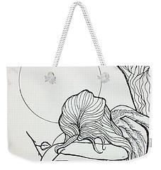 Stone Angel Weekender Tote Bag by Loretta Nash