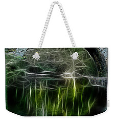 Weekender Tote Bag featuring the photograph Stone Arch Bridge - Ny by EricaMaxine  Price