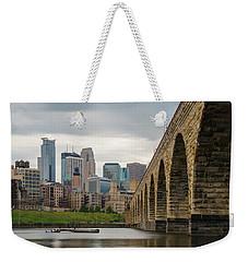 Stone Arch Minneapolis Weekender Tote Bag