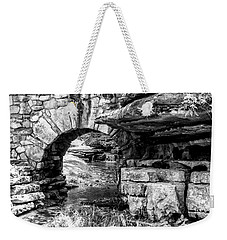 Stone Arch Weekender Tote Bag by Wade Courtney