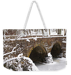 Stone Bridge At Bullrun Virginia Weekender Tote Bag