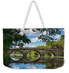 Stone Bridge Over The River 590  Weekender Tote Bag