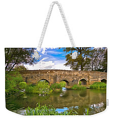Stone Bridge Weekender Tote Bag