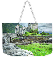 Stone Bridge To The Castle Weekender Tote Bag