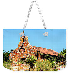 Stone Church New Mexico Weekender Tote Bag