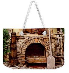 Stone Fireplace Weekender Tote Bag