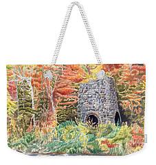 Stone Furnace Weekender Tote Bag