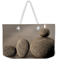 Stone Light Weekender Tote Bag
