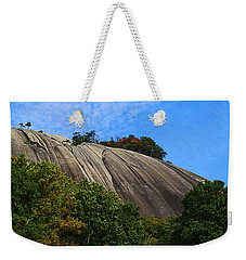 Stone Mountain Weekender Tote Bag by Kathryn Meyer