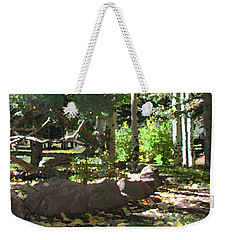 Stone Park Trails Weekender Tote Bag