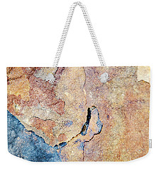 Weekender Tote Bag featuring the photograph Stone Pattern by Christina Rollo