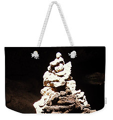 Weekender Tote Bag featuring the photograph Stone Soul by Lucia Sirna
