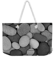 Stone Soup Black And White Weekender Tote Bag
