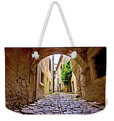 Stone Town Of Groznjan Old Street  Weekender Tote Bag by Brch Photography