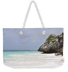 Weekender Tote Bag featuring the photograph Stone Turtle by Glenn Gordon